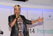 Idols Finalist Sonke Performs at Investec Promaths Awards